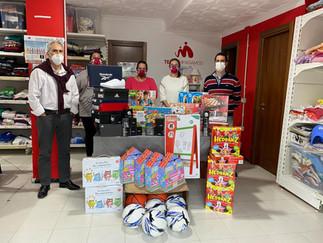 ¡La solidaridad de las personas permite recaudar regalos para 427 niños y niñas!