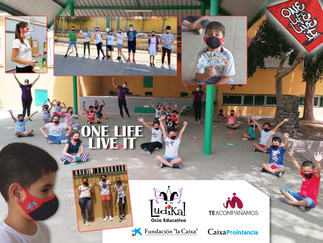 """Donación de Mascarillas """"One Life, Live It"""""""