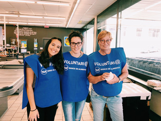 Fin de semana  de voluntariado, en  apoyo a la Operación Kilo del Banco de Alimentos