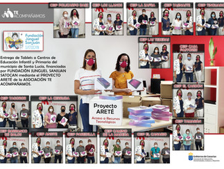 Puesta en marcha del Proyecto ARETÉ y entrega de tablets a los centros educativos del municipio de S
