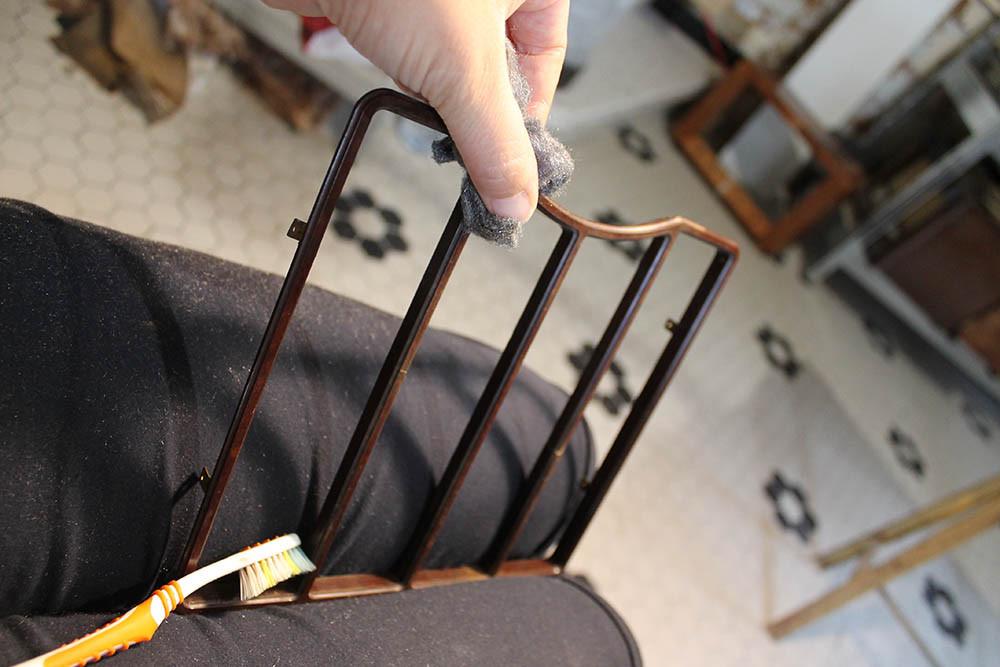 Nettoyage Brosse à dent, laine d'acier 000