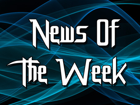 NEWS OF THE WEEK: 2nd April 2018