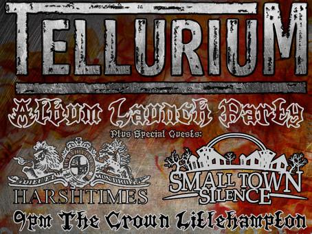 L.A.R.S. Presents: Tellurium - Album Launch Party.