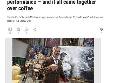The Tampa Bay Times Features Geff Strik & The Florida Orchestra