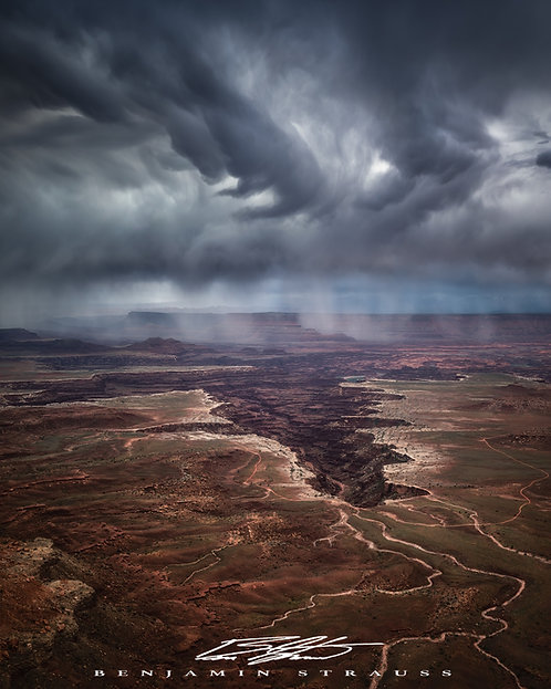Storms Above Canyons