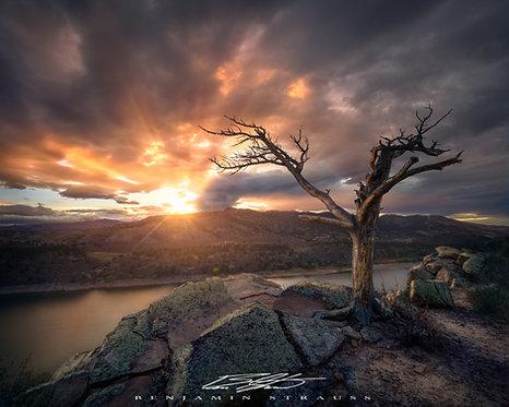 A Nuclear Sunset