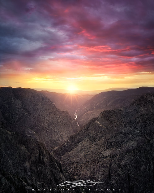 Black Canyon Sky Fire