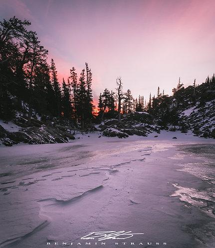 Winter Morning's First Light