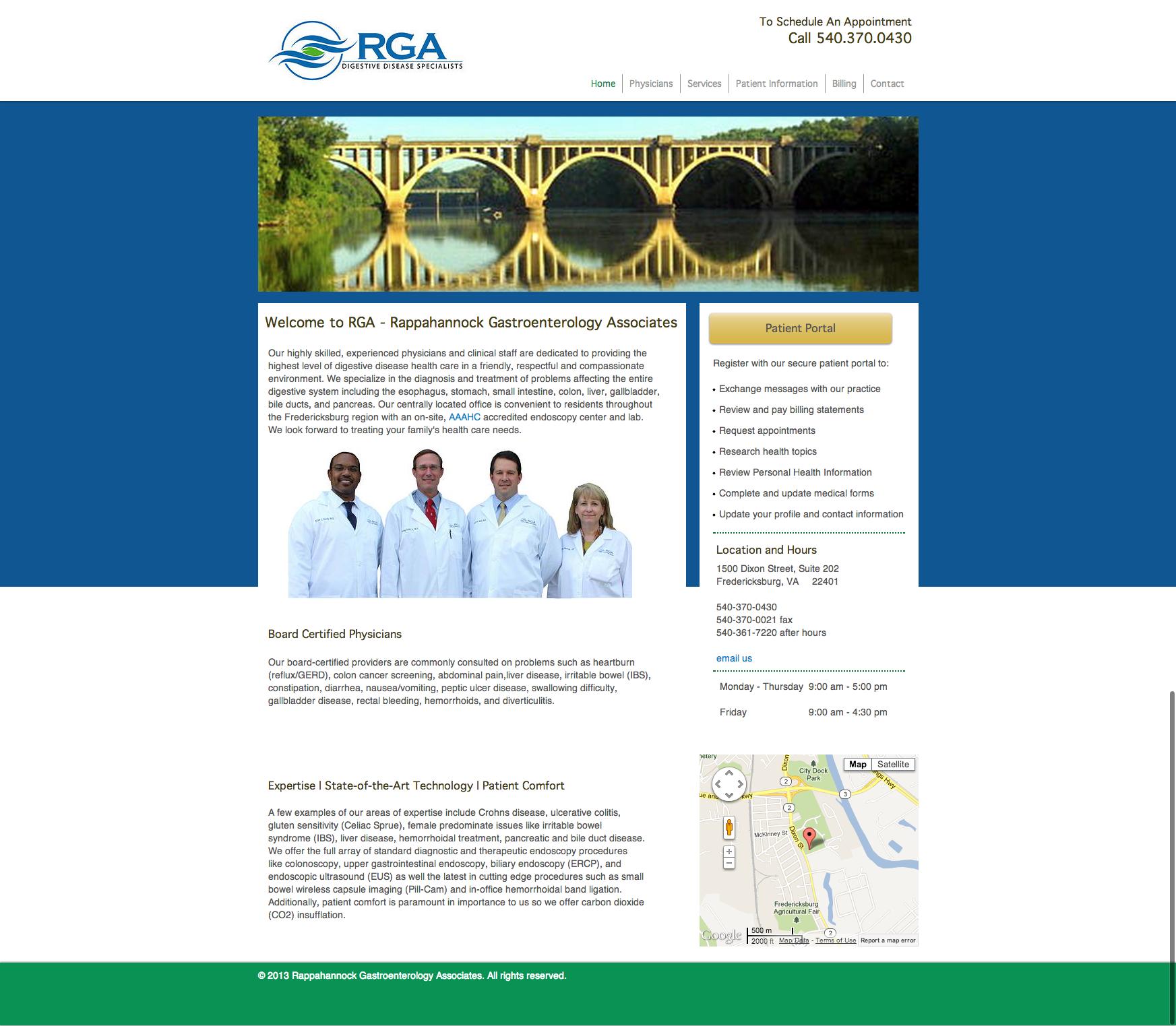Gastroenterologist Doctors Fredericksburg Va Rga