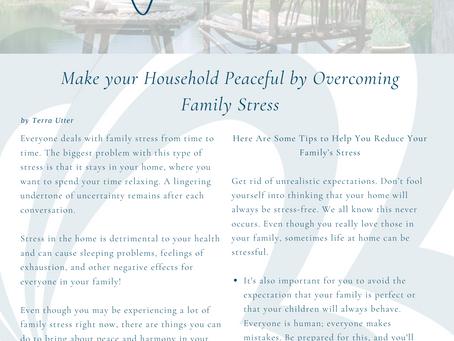 Overcoming Family Stress