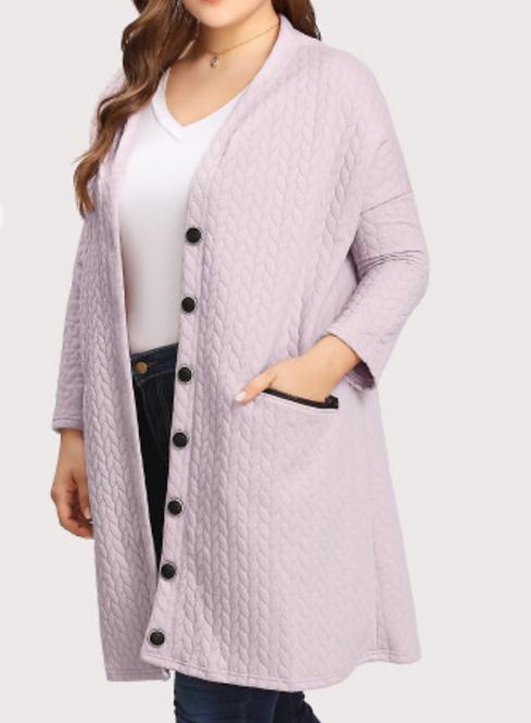 Drop Shoulder Coat