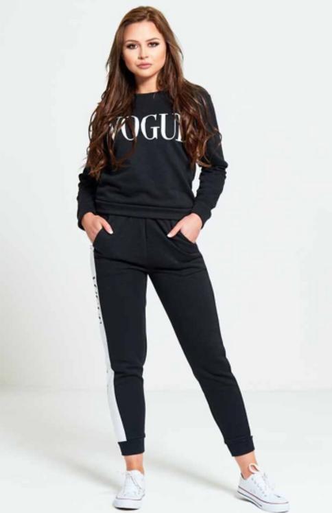 Black Vogue Loungewear