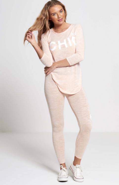 Peach Chic Loungewear