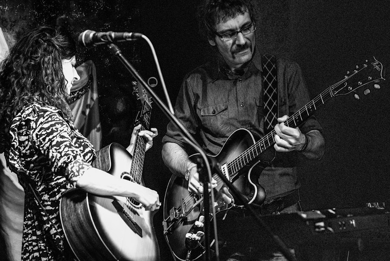 On stage with Marta Collica (Photo by Rainer Stosberg)
