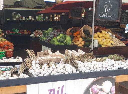 MONTREAL-OUEST | Welcome October: My Favourite Montreal Farmer's Markets.