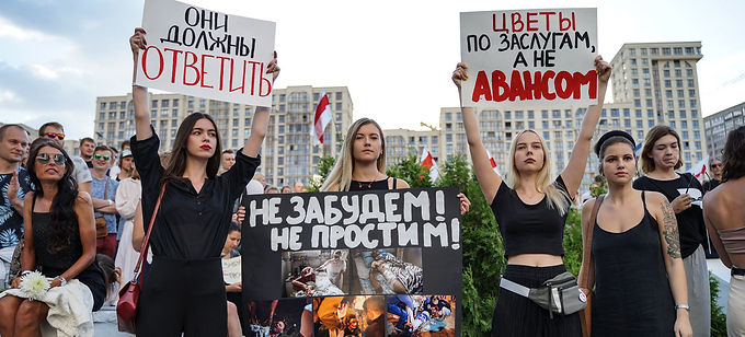 BELARUS CRISIS UNDER THE SPOTLIGHT AT HUMAN RIGHTS COUNCIL