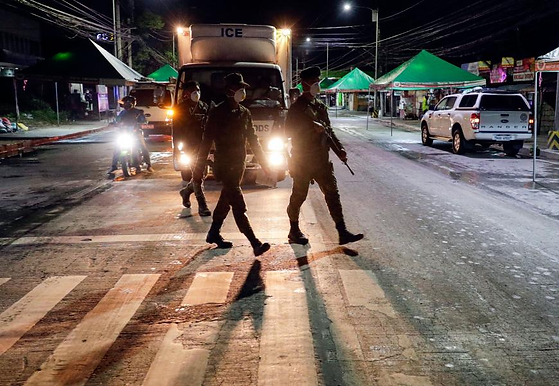 Army personnel alleged to commit brutality in Philippines