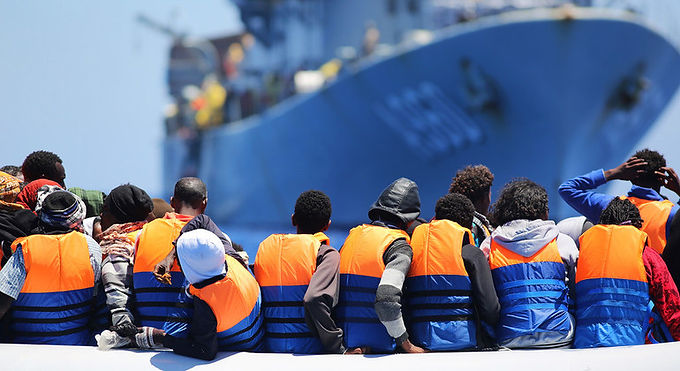 MEDITERRANEAN SEA: 'CYCLE OF VIOLENCE' FOR FLEEING MIGRANTS MUST BE ADDRESSED
