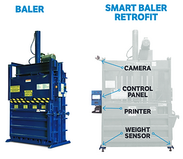 Smart Retrofit Baler - Vertical and Horizontal Balers