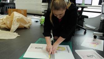 FMP - Making the tote bag