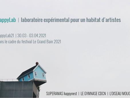 happyLab21 :  Laboratoire expérimental pour un habitat d'artistes