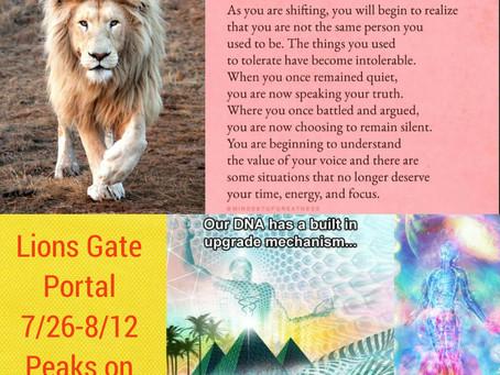 The Lion's Gate Portal 2020