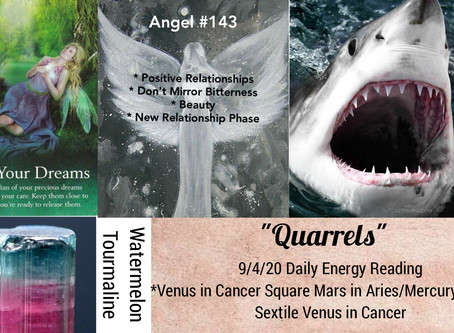 9/4/20  Daily Energy Reading - Quarrels