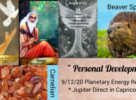 9/12-9/13  Jupiter Direct in Capricorn...Planetary Energy Reading - Personal Development