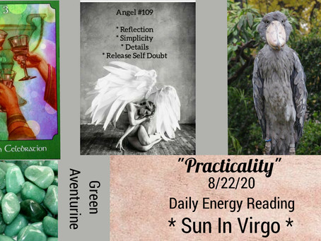 8/22/20  Daily Energy Reading - Practicality