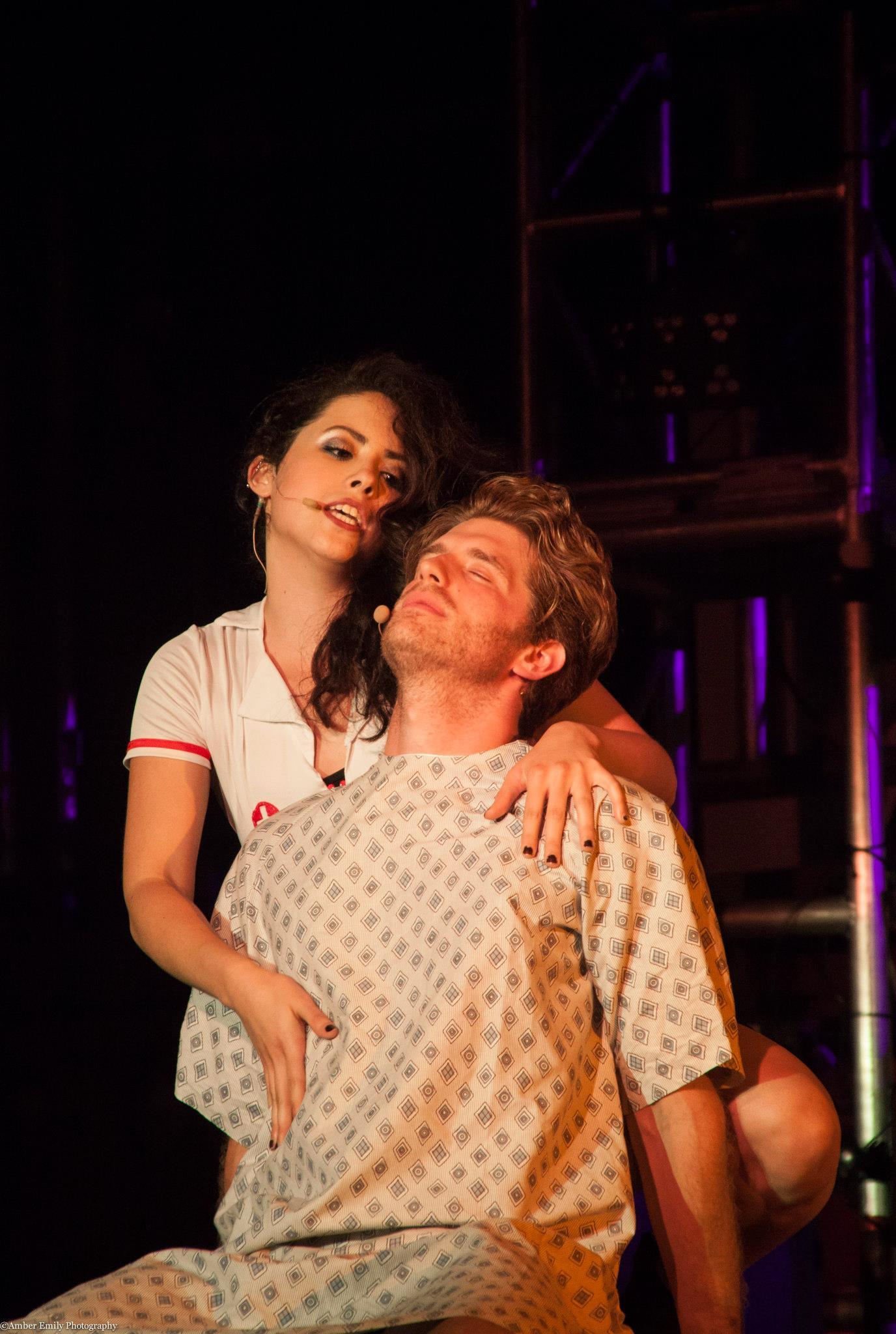 Bianca Gisselle and Jonah Platt