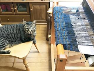 手織り小物と手編みアクセサリー