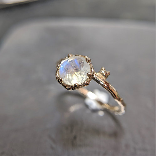 petit cat ring (K10 W.ラブラドライト)