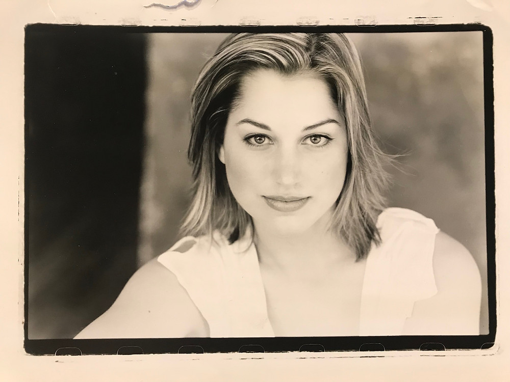 My acting headshot, 2003