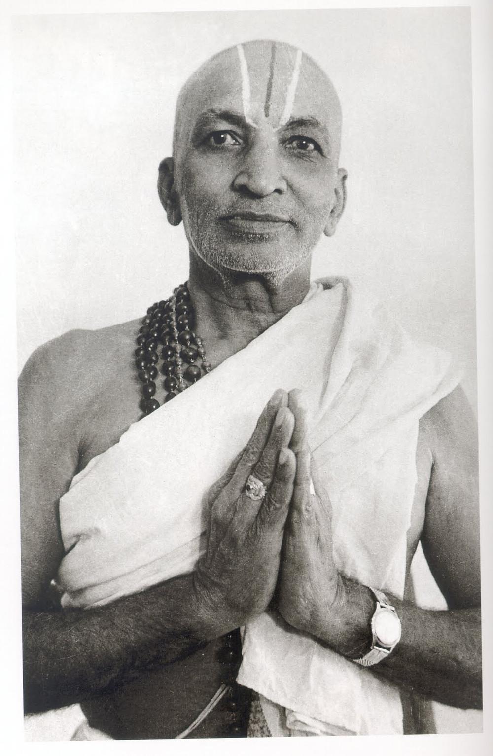 Krishnamacharya, father of modern yoga