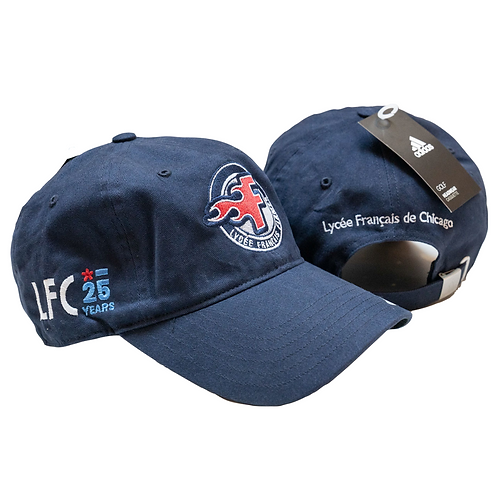 Special Edition: Adidas hat with Flames and LFC 25 Year Logos