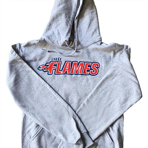 Flames Sweatshirt - Grey