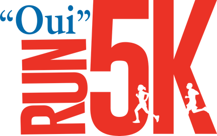 Oui Run 5K Logo