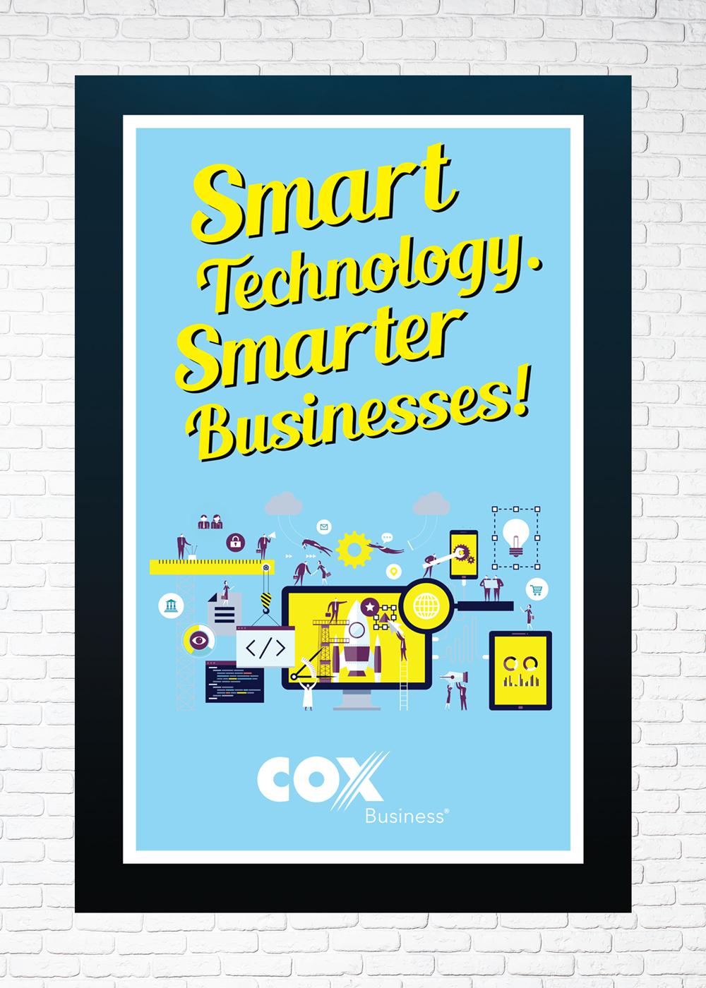 Cox Promotional Tour Poster 1