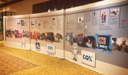 Cox Gallery Wall Installation