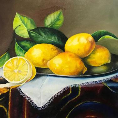 Lemon Oil Painting
