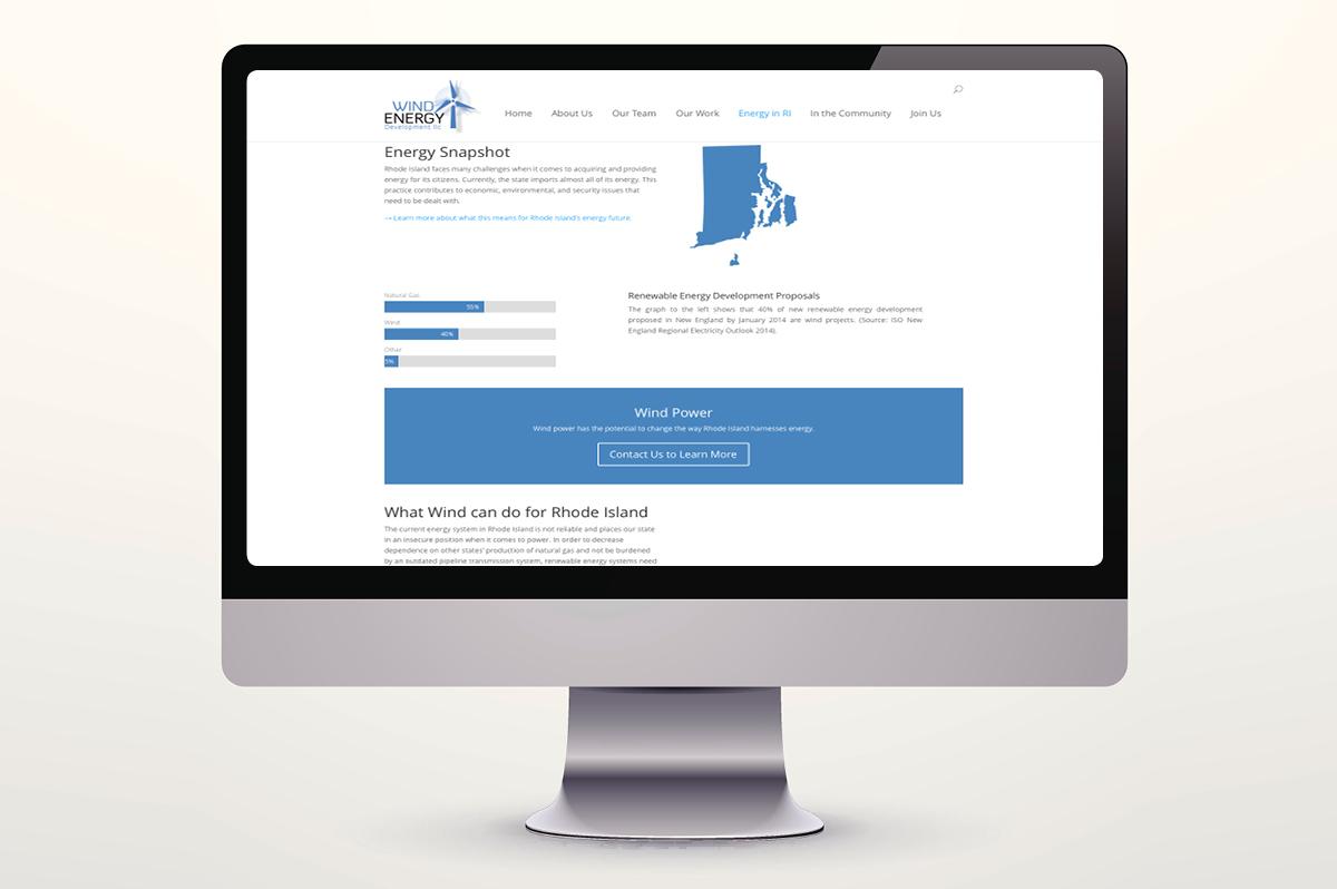 Wind Energy Development Website
