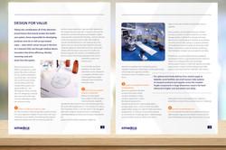 Ximedica Brochure interior pages