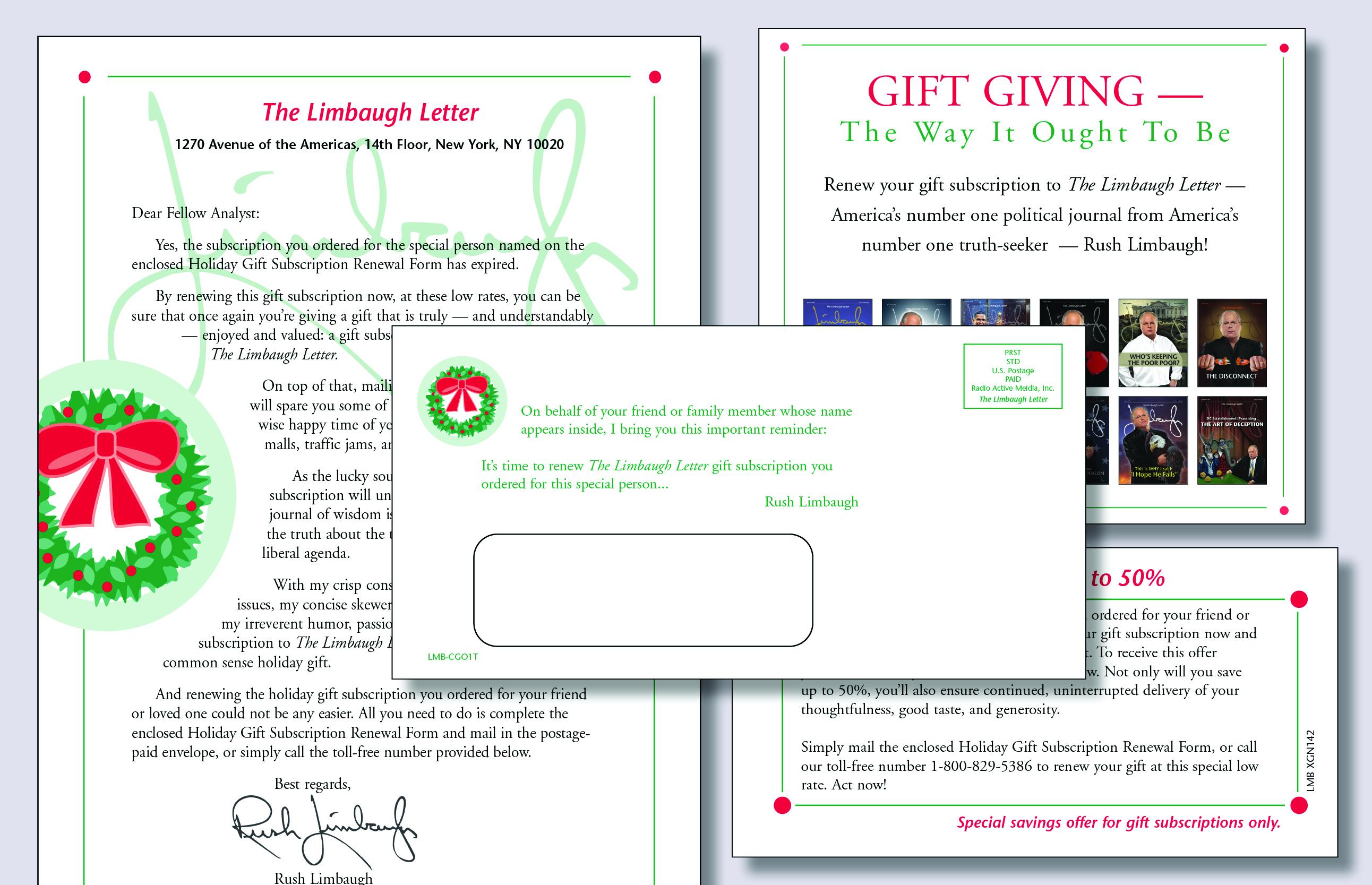 Christmas Mailer Series 2
