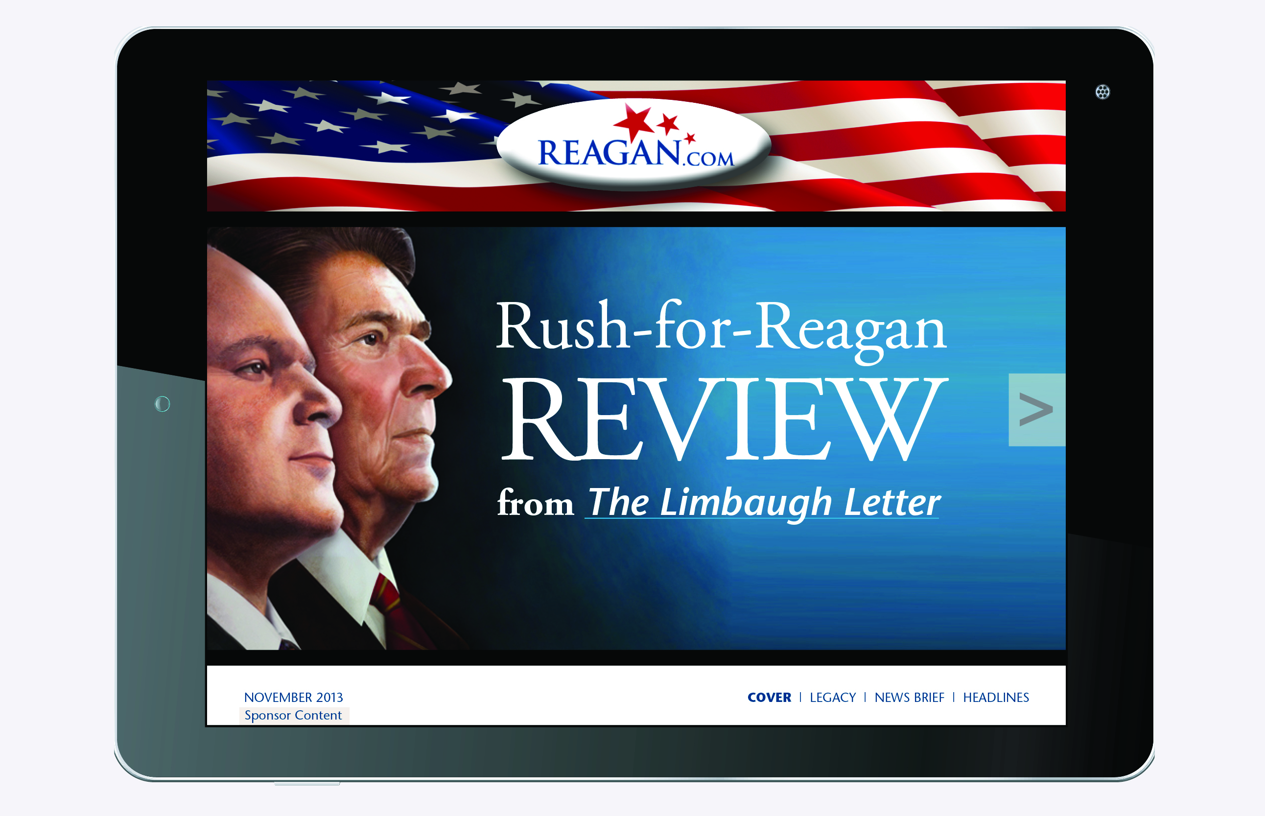 Rush for Reagan Review