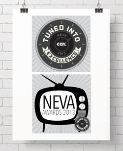 Cox Neva Awards logo & Signage