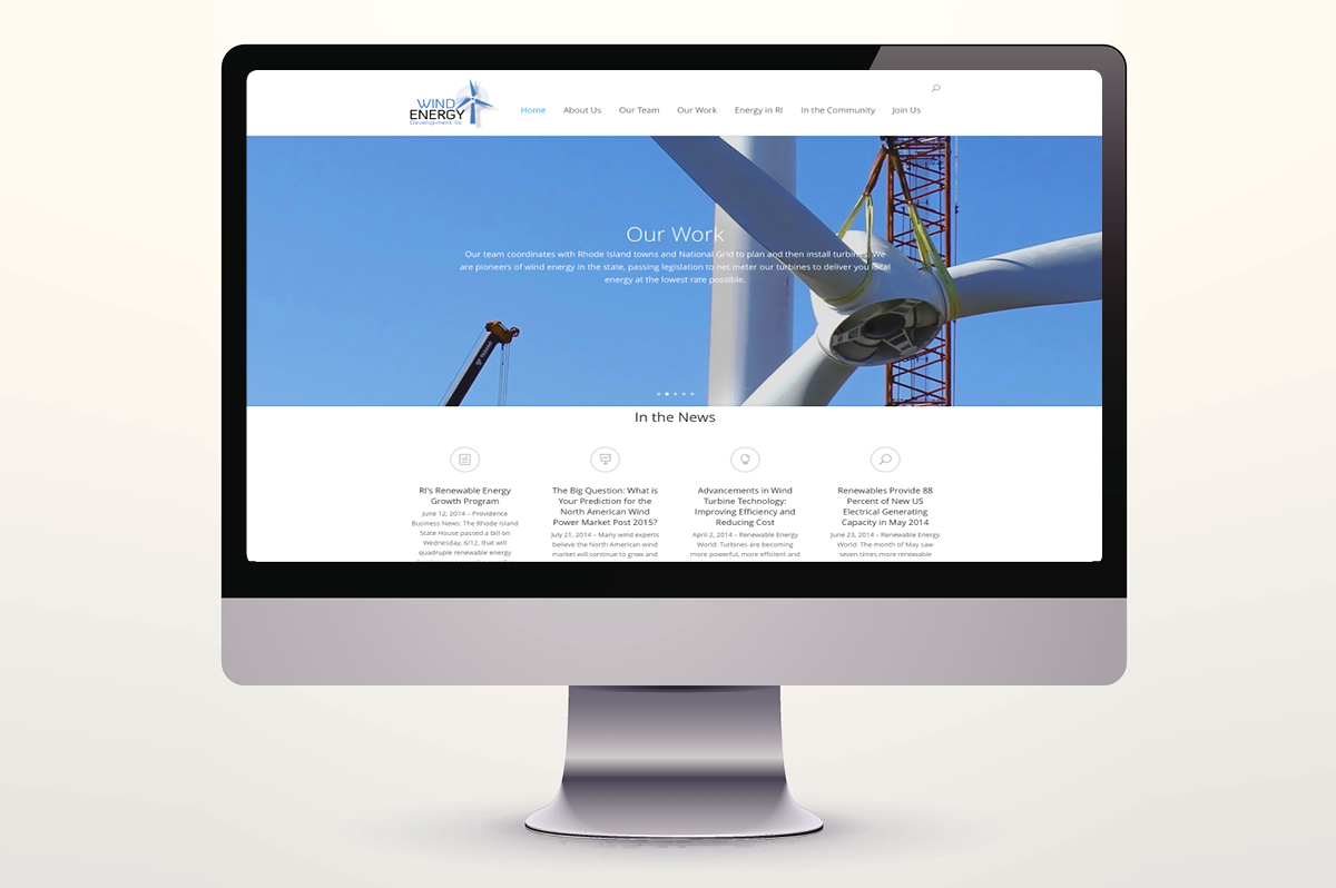 Wind Energy Development Website