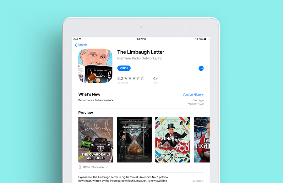 TLL Subscription Apple Page