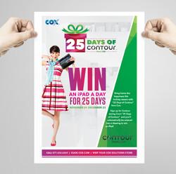 Cox 25 Days of Contour Promotion