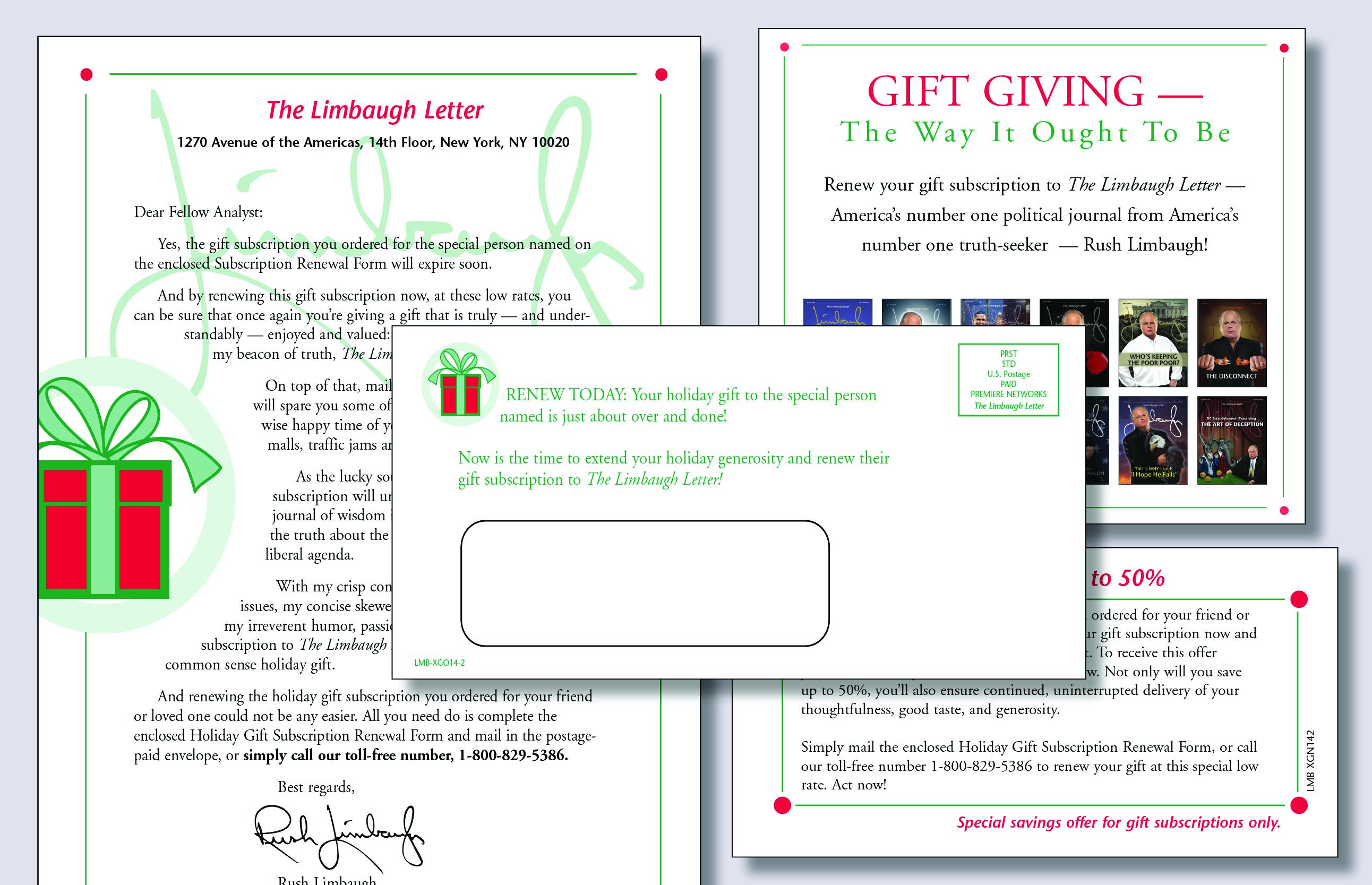 Christmas Mailer Series 4