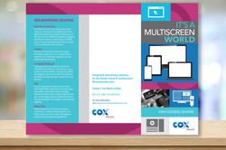 COX Media TriFold Sales Brochure PG1